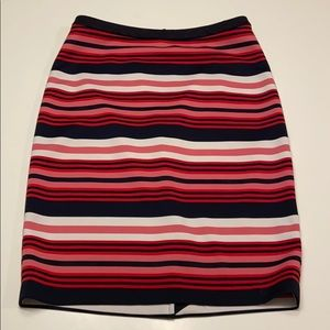 The Limited striped pencil skirt